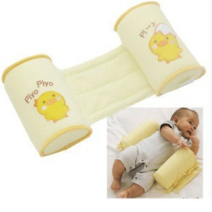 Cute Chick Pattern Baby Infant Head Sleeping Positioner Pillow - Yellow
