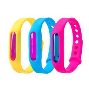 Mosquito Repellent Bracelets Outdoor Pest Insect Bugs Control Repeller Wristband for Adult - Random Color
