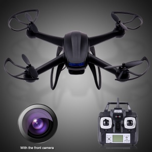 007 Black Four-wing RC Quadcopter Helicopter with 2MP Mini HD Camera