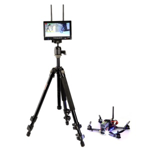 RX-LCD5802 5.8GHz LCD Diversity Receiver 7-inch Monitor for RC FPV