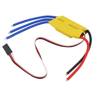 30A Brushless Speed Controller for RC Airplane Quadcopter with 5V BEC