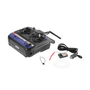 FLY SKY 2.4G FS-CT6B 6-Channel Radio Model RC Transmitter Receiver Control