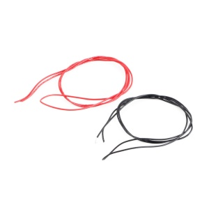 1M Red + 1M Black 22 Gauge 22 AWG Soft Silicone Wires for RC Lipo Battery