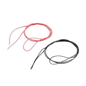 1M Red + 1M Black 24 Gauge 24 AWG Soft Silicone Wires for RC Lipo Battery