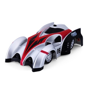 DHD C1 X-RUN Electrical RC Remote Control Wall Climbing Car Toy for Children - Red