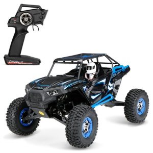 WLTOYS 12428-B 1:12 Brush Electric RC Car 2.4G Ready-To-Go Mini Remote Control Car - Blue/EU Plug