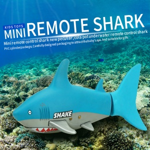 3310B 3CH RC Shark Boat Mini Shark Toy Remote Control USB Chargeable Fish Toy Gift for Children