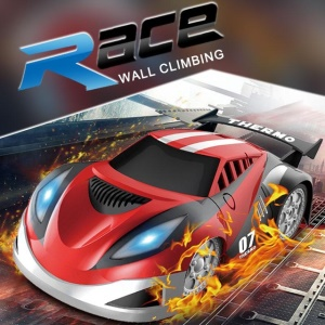 JJRC Q2 4 Channel Electric Wall Climbing Car Remote Control Children Climbing Toys Car - Red