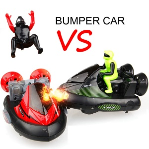2Pcs RC Battle Bumper Cars Remote Control Stunt Electric Battle Racing Vehicles Kids Toys
