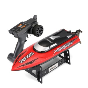 UDI901 High Speed 2.4G Remote Control Boat with Water Cycle Cooling System - Red