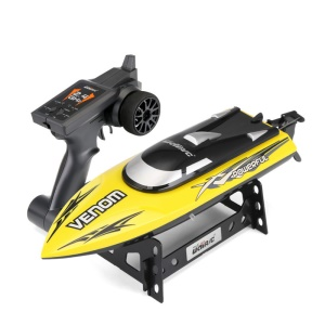 UDI901 High Speed Navigation Remote Control Boat Water Cycle Cooling System RC Toy - Yellow