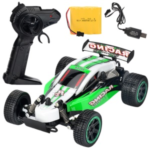 2.4G Remote Control High Speed Racing Car 1:18 Drift RC Vehicle - Green