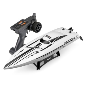 UDI 903 Brushless Motor High Speed Racing Yacht 2.4G Remote Control Speedboat - US Plug