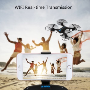 A6 Foldable 2MP Camera WiFi Real-time Transmission RC Drone 3D Flip Altitude Holder RC Quadcopter