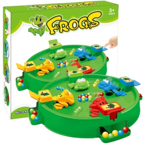 Frog Eat Beans Table Game Parent-Child Interactive Board Games Educational Toy
