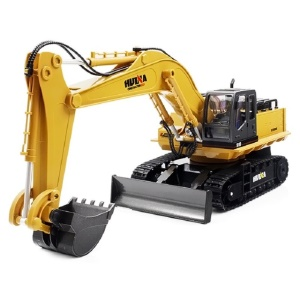 1510 1:16 2.4GHz 11CH RC Alloy Excavator 680-degree Rotation