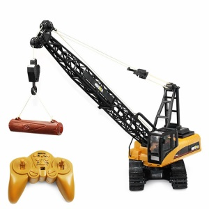 572 1:14 2.4G 15CH RC Alloy Crane Engineering Truck Toy