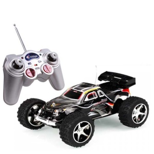 WLTOYS 2019 1/32 5-Speed Gears Remote Control Racer Racing Car Toy - Black