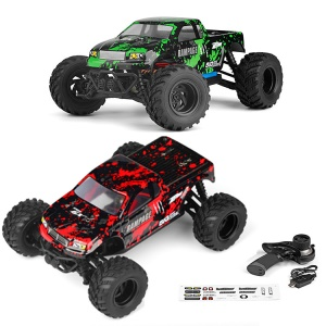 18859E 1:18 Full Scale 2.4G Remote Control Four-wheel Drive Truck High-speed Off-road Vehicle Model Toy RC Toy