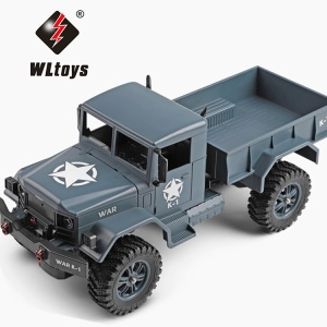 WLTOYS 124301 1:12 2.4Ghz 4WD RC Car Off-road Vehicle Remote Control Truck - Dark Blue