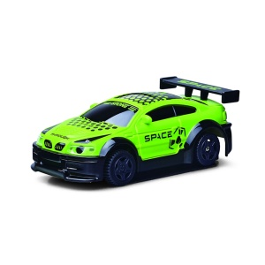 GOLD LIGHT 777-617 Mini 2.4G 4WD Wall Climbing Remote Control Car with LED Light - Green