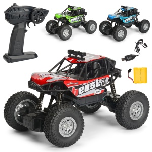 2.4G 1:20 High Speed Racing Car Climbing Remote Control Off-road Car - Red