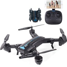 A6GPS-720P-5G Wide Angle Camera 4-Axis WiFi Folding RC Quadcopter Drone Toy