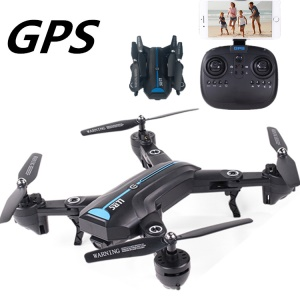 A6GPS-720P Wide Angle Camera 4-Axis WiFi Folding RC Quadcopter Drone Toy