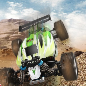 WLTOYS A959-B 1/18 2.4G 70km / h Buggy Off-Road RC Racing Car Toy - US vela