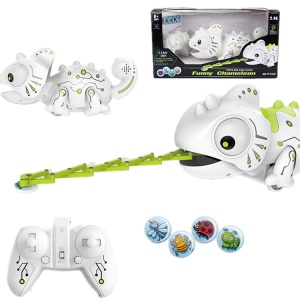 2.4G Remote Control Intelligent Chameleon Electronic Toy
