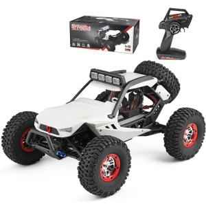 WLTOYS 12429 1:12 High Speed Off-Road RC Racing Car 4WD Crawler with LED Light