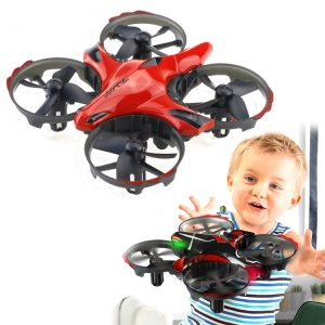 JJRC H56 Throw to Fly Aircraft 2.4GHz RC Drone [Headless Mode / IR Sensing Control] - Red