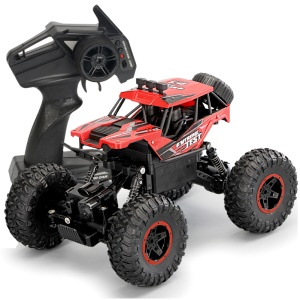 388-21 1:14 4WD High Speed 2.4G RC Car Climbing Off-road Vehicle - Red