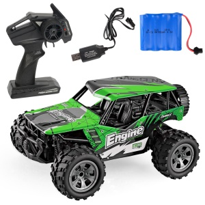 20km/h 1:20 2.4G Remote Racing Car RC Electric Monster Truck Off-Road Vehicle - Green