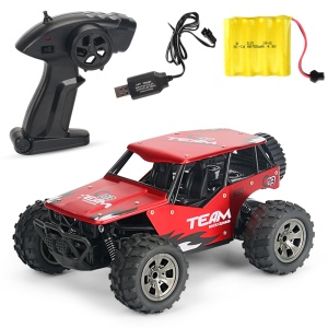 20km/h1:18 2.4G Remote Racing Car RC Electric Monster Truck Off-Road Vehicle YL-16 - Red