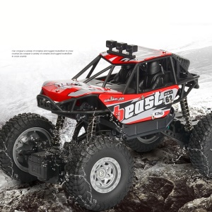 20km/h 1:20 2.4G Electric Off-Road Vehicle Remote Racing Car RC A601 - Red