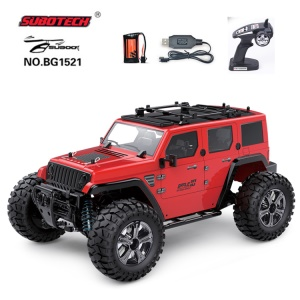 SUBOTECH BG1521 1:14 2.4GHz Four-wheel Monster Hummer Car Toy - Red