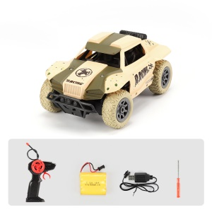 XD808A 1:20 RC Car 2.4G Crawler RC Car Children Toys Kids Mini RC Car with Remote Control - Yellow