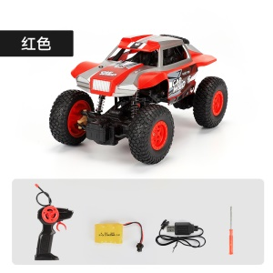 1:20 2.4G Remote Racing Car Off-Road Vehicle RC Electric Monster Truck - Red