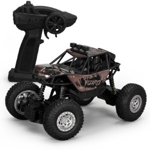 1:18 2.4G Alloy Remote Racing Car Off-Road Vehicle RC Electric Monster Truck - Black