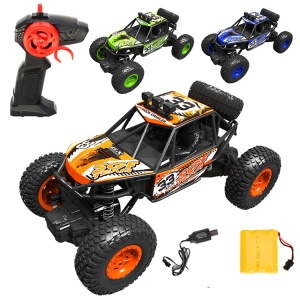 8211A+ 2.4G 1:20 Remote Racing Car RC Electric Monster Truck Off-Road Vehicle  - Yellow