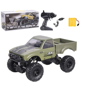 1:16 2.4G Remote Racing Car Off-Road Vehicle RC Electric Monster Truck - Green