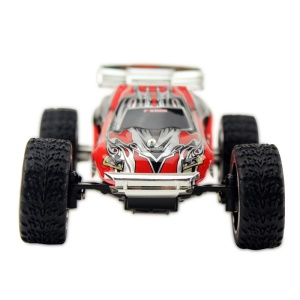 WLTOYS L929 1:28 Brush Electric RC Car 50KM/H 2.4G Ready-To-Go Mini Remote Control Car - Red