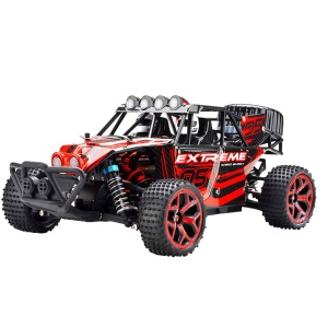 333-GS02B 1:18 2.4G High Speed Off-road Vehicle 120km/h RC Racing Car Kids Toy - Red