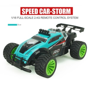 SUBOTECH BG1505 2.4GHz 1:16 20KM/H High Speed Racing Car RC Drift Buggy Car - Blue / EU Plug