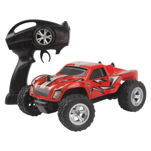 K24 2.4G 1:24 High Speed Monster Truck Remote Control Car for Kids - Red