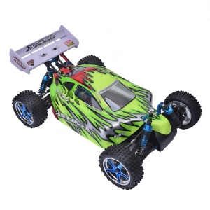HSP 74107Pro 1/10 4WD Off-road Brushless RC Car High Speed Buggy - Green / EU Plug