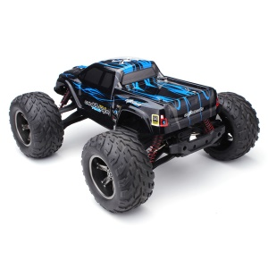 9115 1/12 Full Scale 42KM+ 2.4G RC Car RTR Off-road Monster Truck - Blue / US Plug