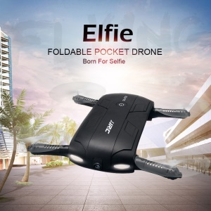 JJRC H37 ELFIE Folding Pocket Selfie Drone RC Quadcopter com WiFi FPV 720P Camera Altitude Hold