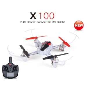 WLTOYS X100 3D 6G Mode Inverted Flight 2.4G 4CH 6 Axis LED RC Quadcopter Mini Drone